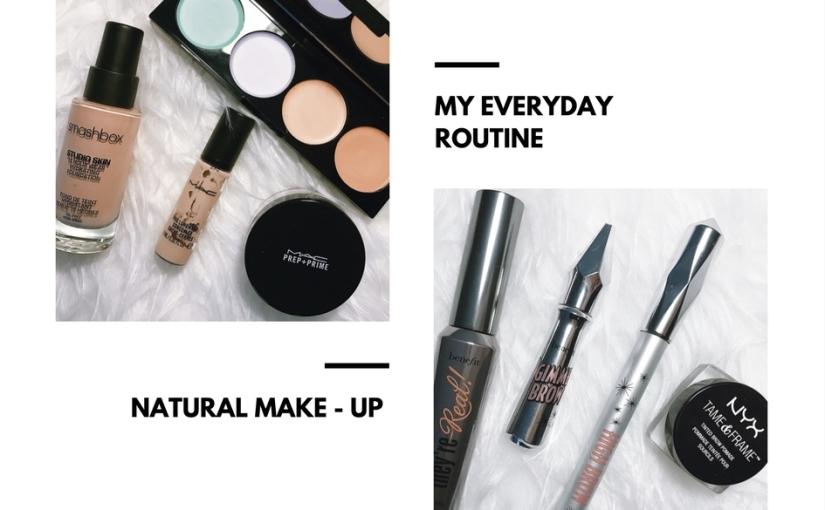 My natural make-uproutine